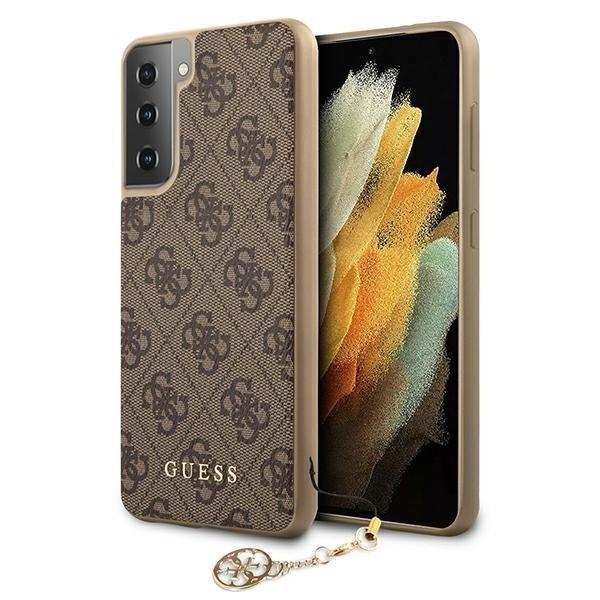 Guess Kryt na Samsung Galaxy S21 Plus Hnedý