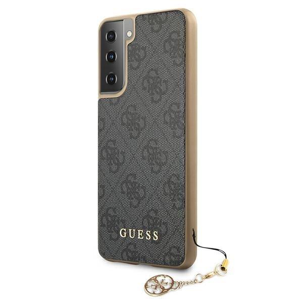 Guess kryt na Samsung Galaxy S21 Plus Sivý