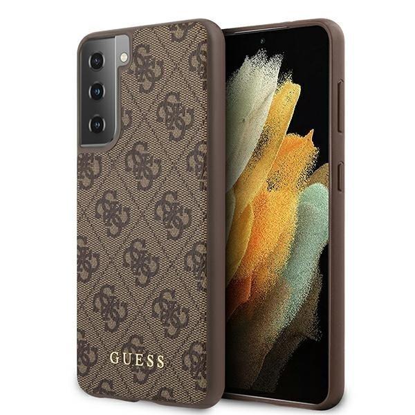 Guess kryt na Samsung Galaxy S21 Plus Tmavo hnedý