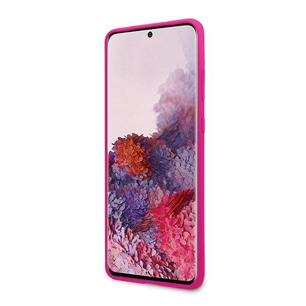 Guess Silikónový kryt na Samsung Galaxy S20 Tone On Tone