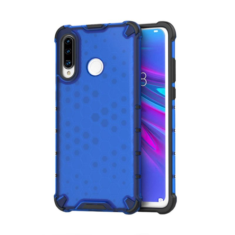 Honeycomb kryt na Huawei P30 Lite Modrý