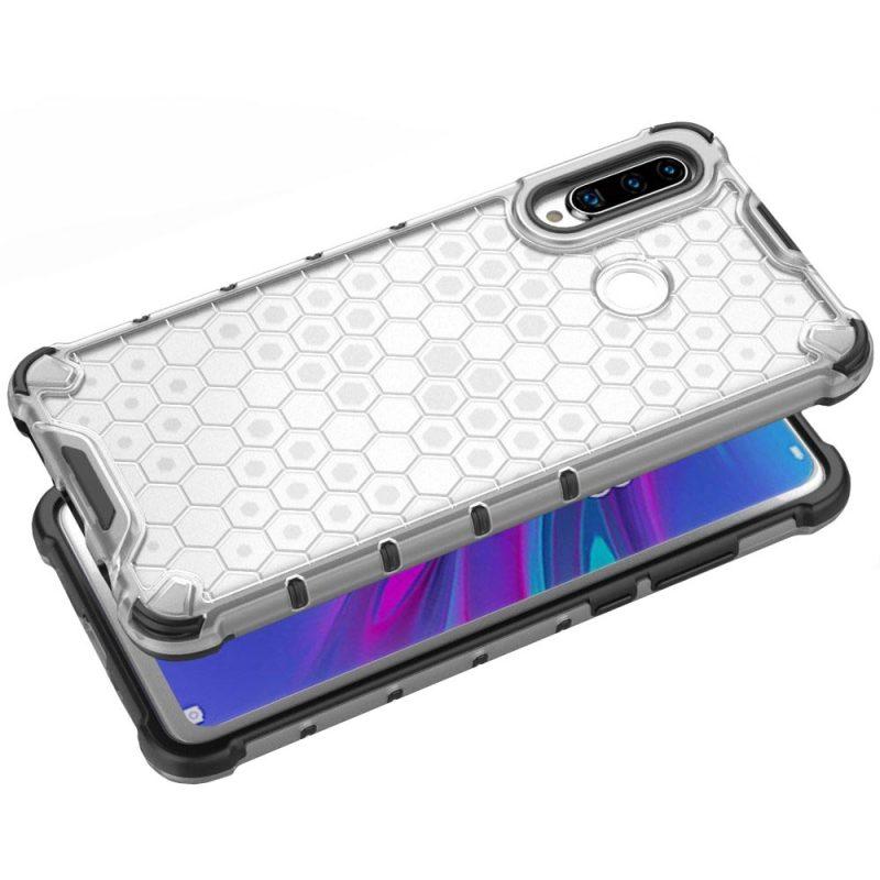 Honeycomb kryt na Huawei P30 Lite Transparent