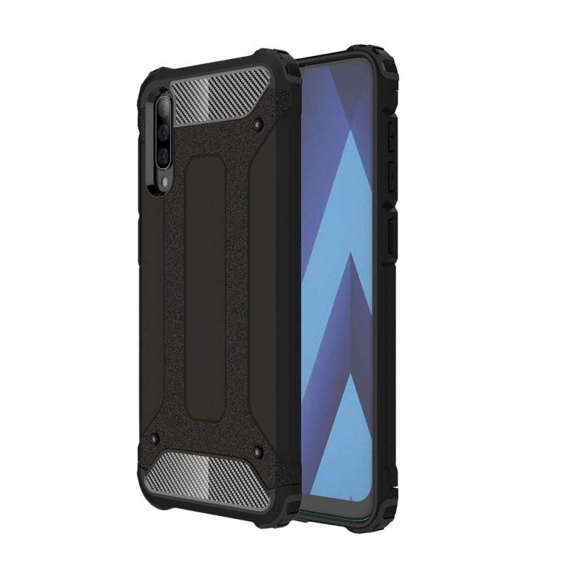 Hybrid Armor kryt na Samsung Galaxy A70 Black