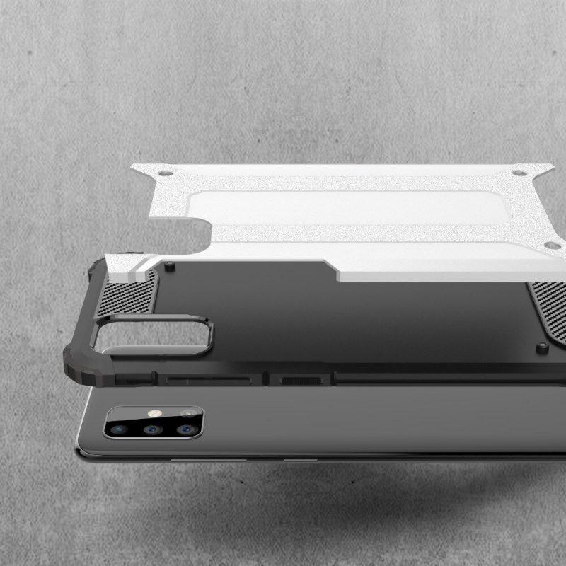 Hybrid Armor kryt na Samsung Galaxy A71 Čierny