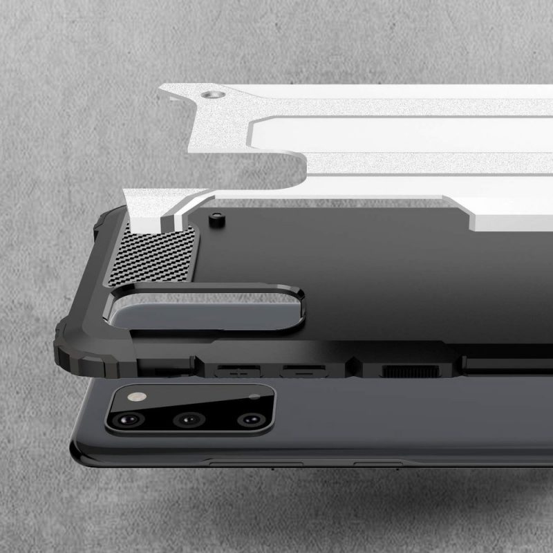 Hybrid Armor kryt na Samsung Galaxy S20 White