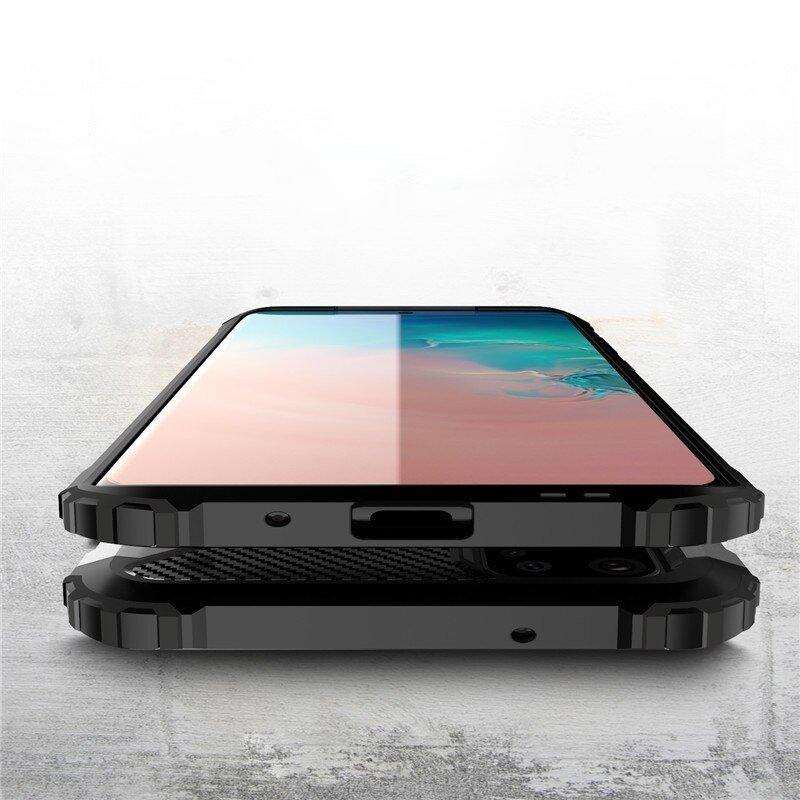 Hybrid Armor kryt na Samsung Galaxy S20 Plus Čierny