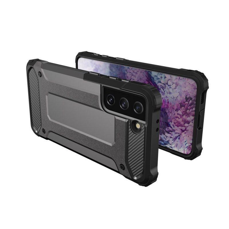 Hybrid Armor kryt na Samsung Galaxy S21 Plus Čierny
