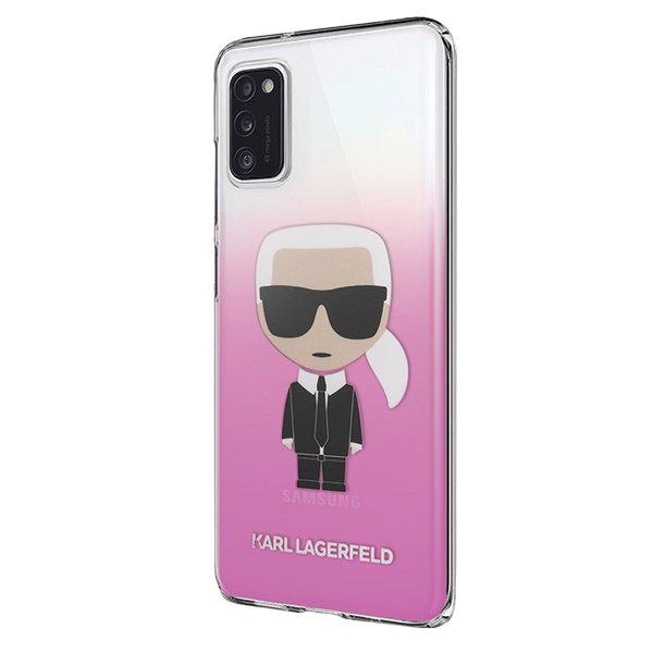 Karl Lagerfeld kryt na Samsung Galaxy A41 Pink Gradient