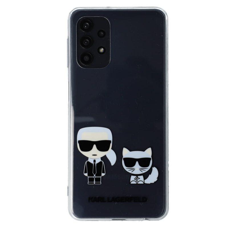 Karl Lagerfeld kryt na Samsung Galaxy A52 Priehľadný