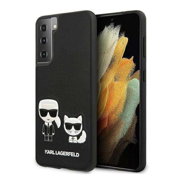 Karl Lagerfeld kryt na Samsung Galaxy S21 Plus Black Hard Case