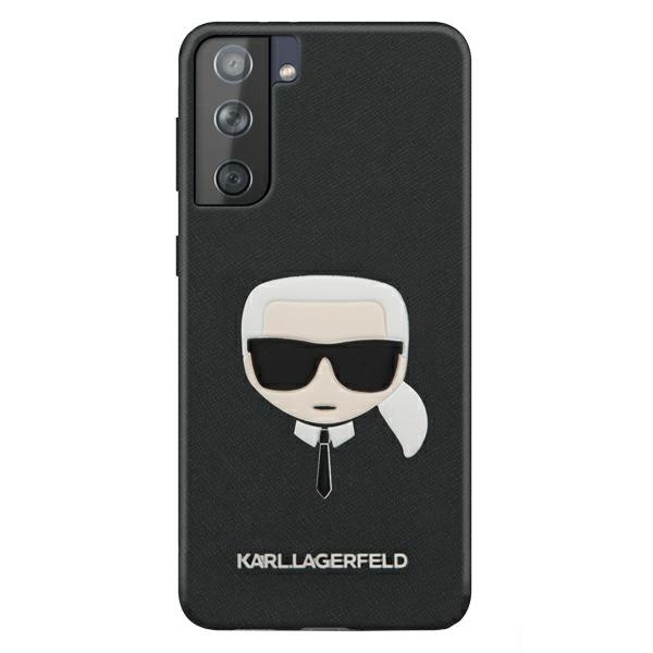 Karl Lagerfeld kryt na Samsung Galaxy S21 Plus Čierny Hard Case