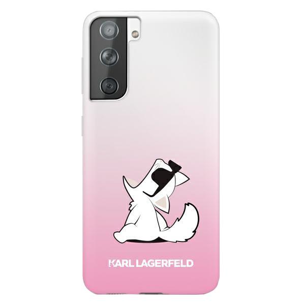 Karl Lagerfeld kryt na Samsung Galaxy S21 Plus Ružový