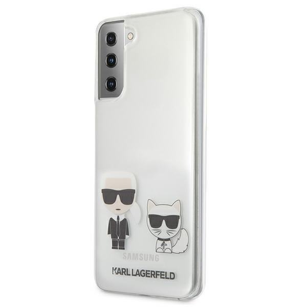 Karl Lagerfeld kryt na Samsung Galaxy S21 Transparent