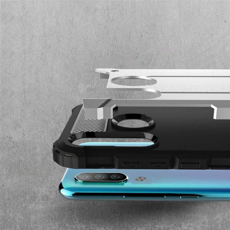 Kryt na Huawei P30 Lite Hybrid Armor sivý