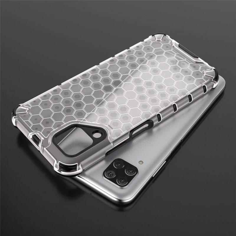 Kryt na Huawei P40 Lite Honeycomb Armor Transparent