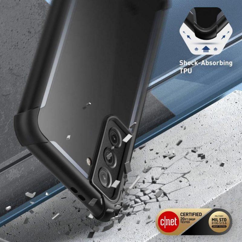 Kryt na Samsung Galaxy S21 Plus Black Iblsn Ares