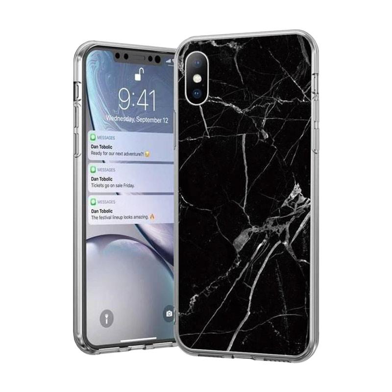 Kryt na Samsung Galaxy S21 Plus Black Marble