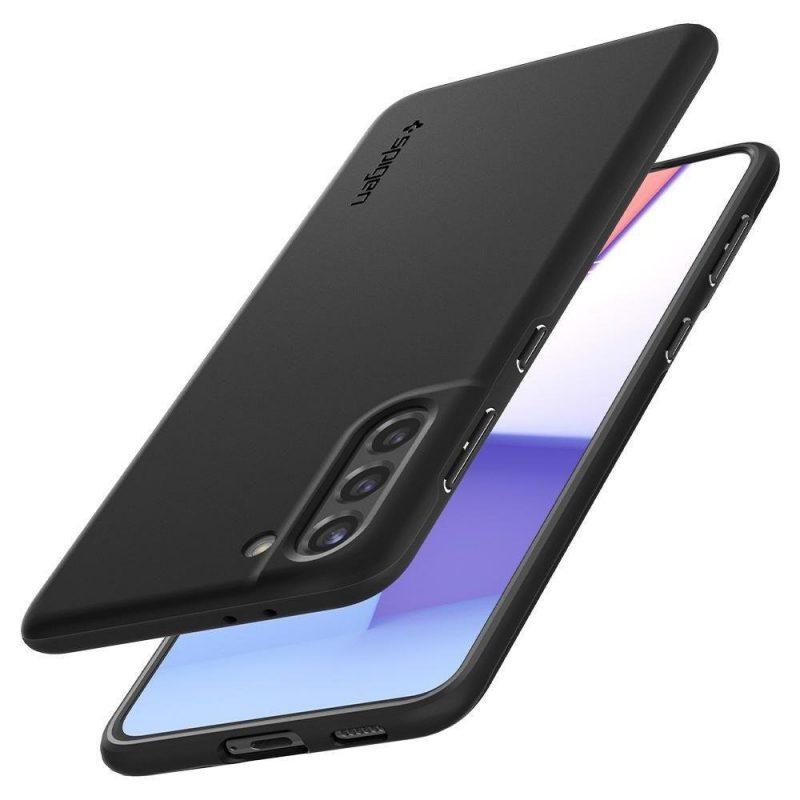 Kryt na Samsung Galaxy S21 Plus Black Thin Fit
