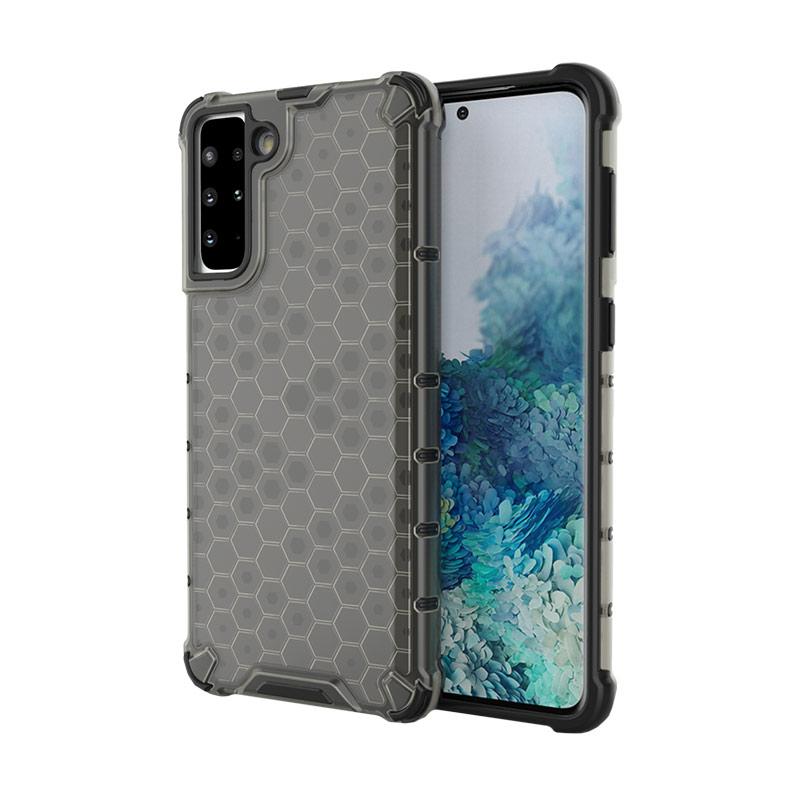 Kryt na Samsung Galaxy S21 Plus Honeycomb Armor Čierny