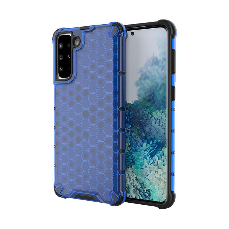 Kryt na Samsung Galaxy S21 Honeycomb Armor Modrý