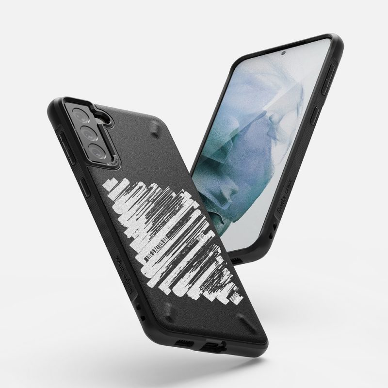 Kryt na Samsung Galaxy S21 Plus Onyx Design Durable Paint