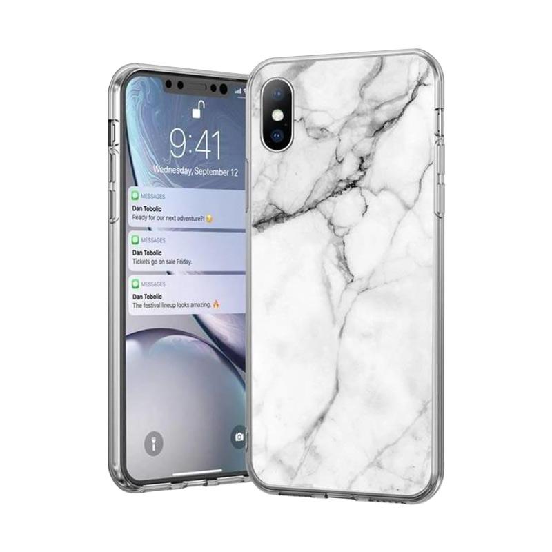 Kryt na Samsung Galaxy S21 White Marble