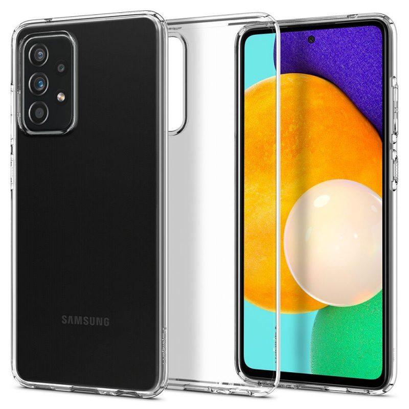 Liquid Crystal kryt na Samsung Galaxy A52 Clear