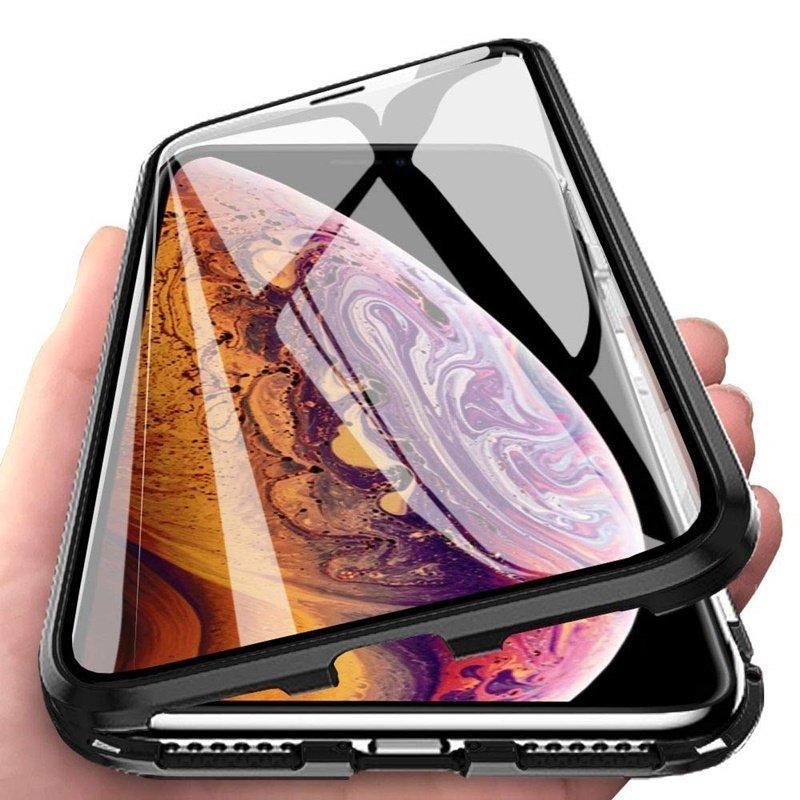 Magnetický kryt 360° na Huawei P40 Lite Čierny