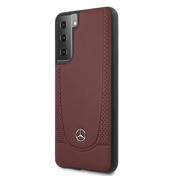Mercedes kryt na Samsung Galaxy S21 Plus Brown Hard Case Urban Line