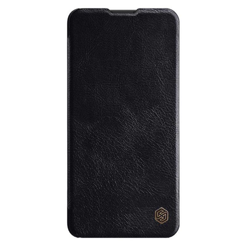 Nillkin Qin kožený kryt na Huawei P40 Lite Čierny