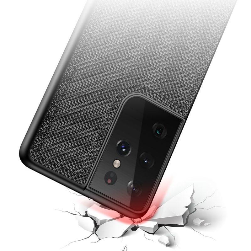 Nylonový kryt na Samsung Galaxy S21 Ultra Čierny