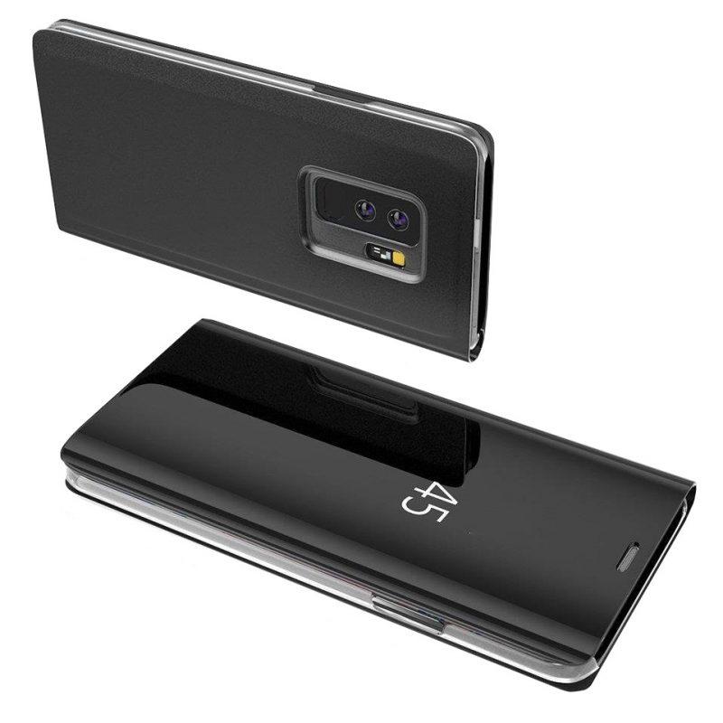 Ochranné Flip puzdro na Samsung Galaxy S10 Plus Čierne