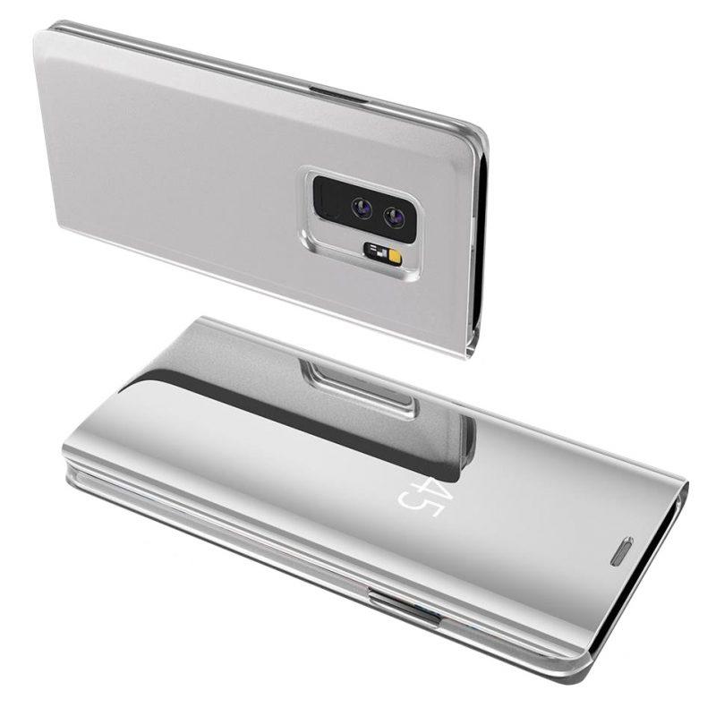 Ochranné Flip puzdro na Samsung Galaxy A70 Silver