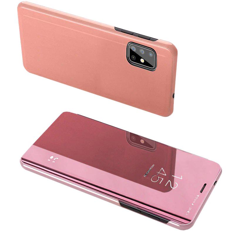 Ochranné Flip puzdro na Samsung Galaxy A20S Ružové