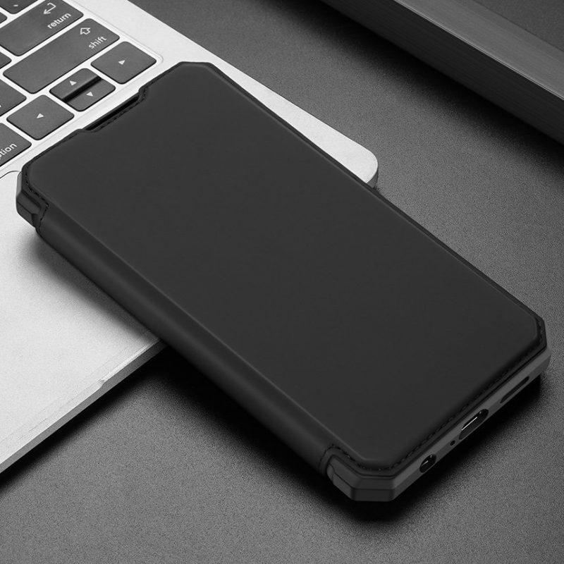 Ochranné Flip puzdro na Samsung Galaxy A72 Čierne