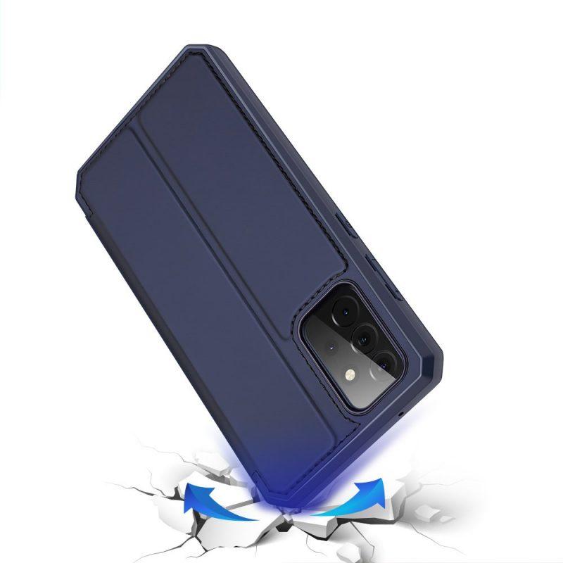Ochranné Flip puzdro na Samsung Galaxy A72 Modré