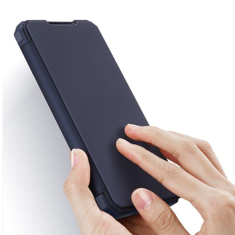 Ochranné Flip puzdro na Samsung Galaxy S21 Ultra Dark Blue