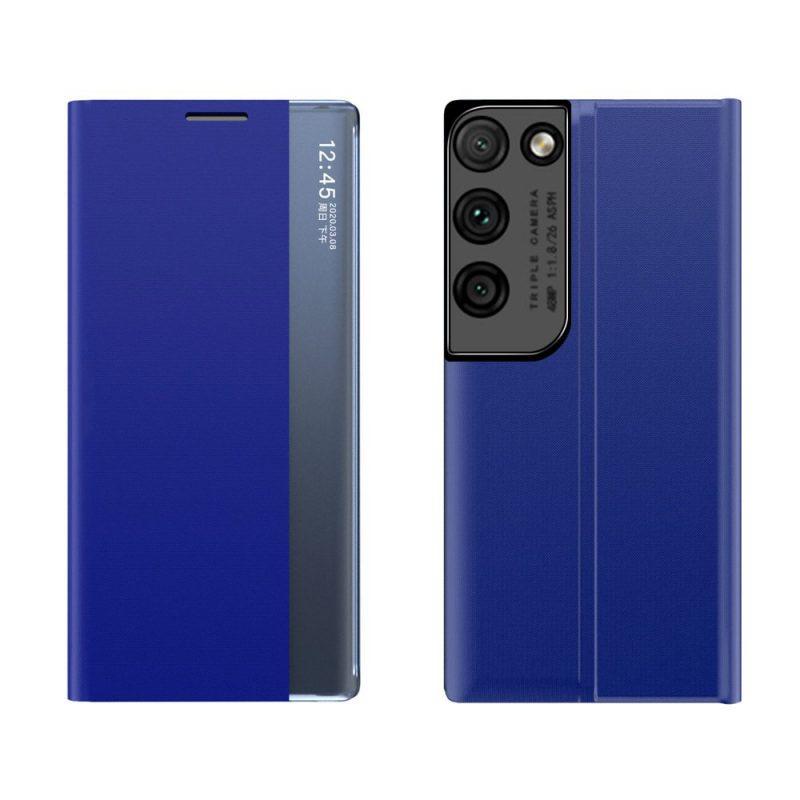Ochranné Flip puzdro na Samsung Galaxy S21 Ultra Modré