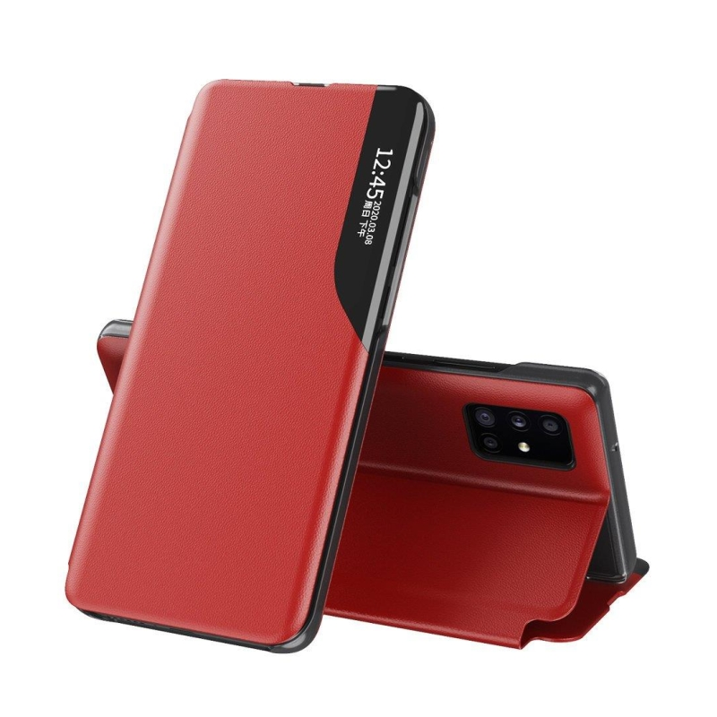 Ochranné flip puzdro na Huawei P40 Červený