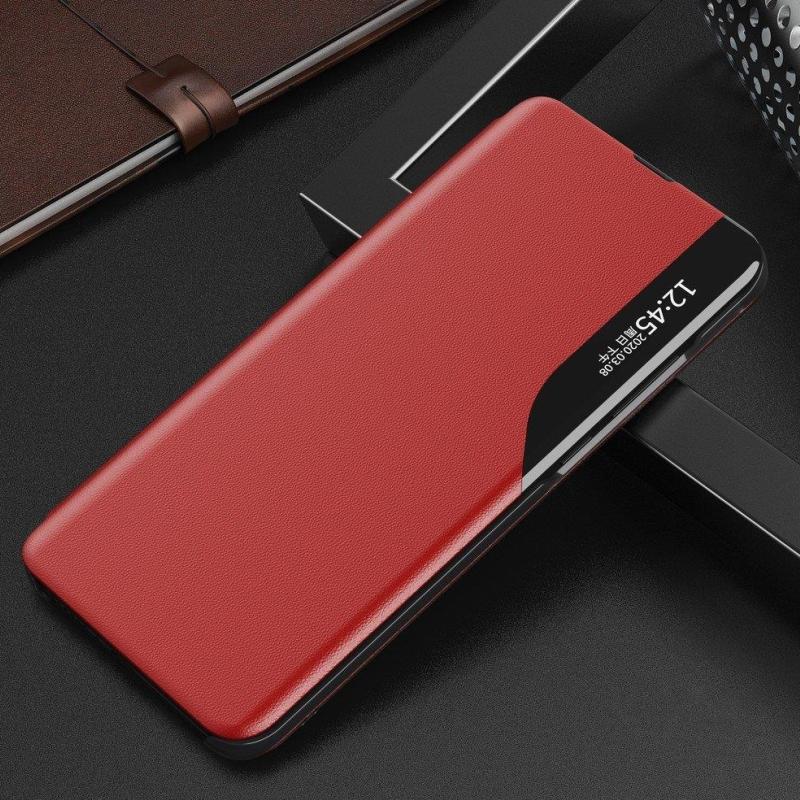 Ochranné flip puzdro na Huawei P40 Pro Červený