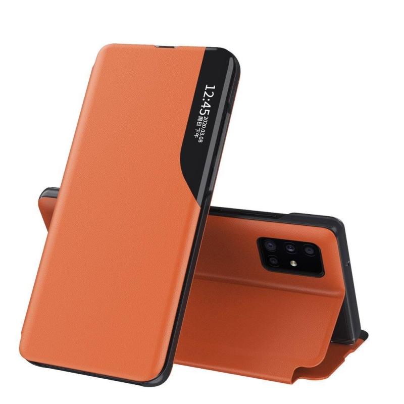 Ochranné flip puzdro na Huawei P40 Oranžový