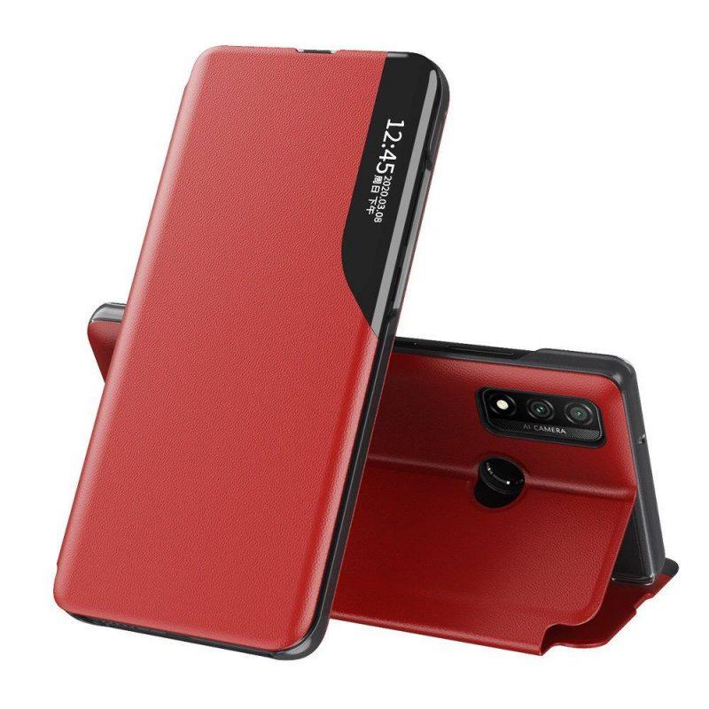 Ochranné flip puzdro na Huawei P40 Lite Červené