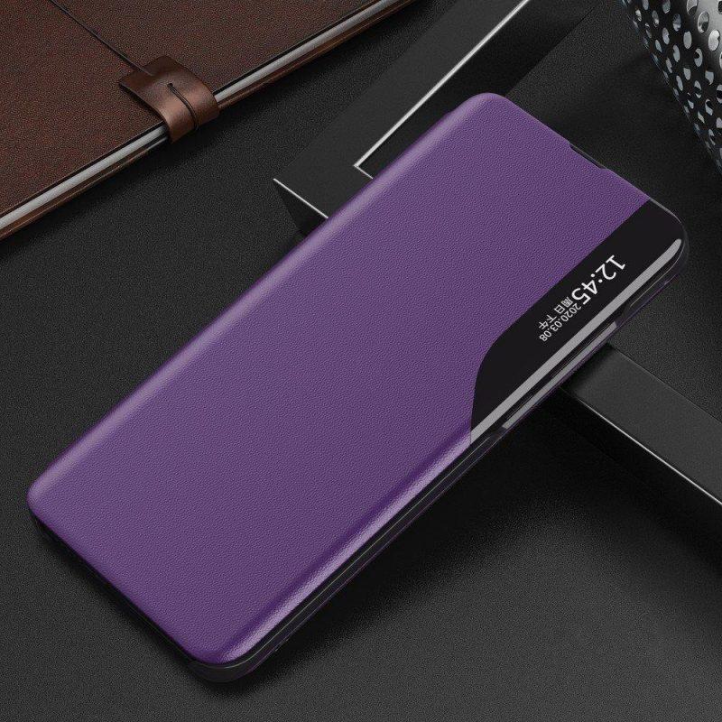 Ochranné flip puzdro na Huawei P40 Lite Fialový