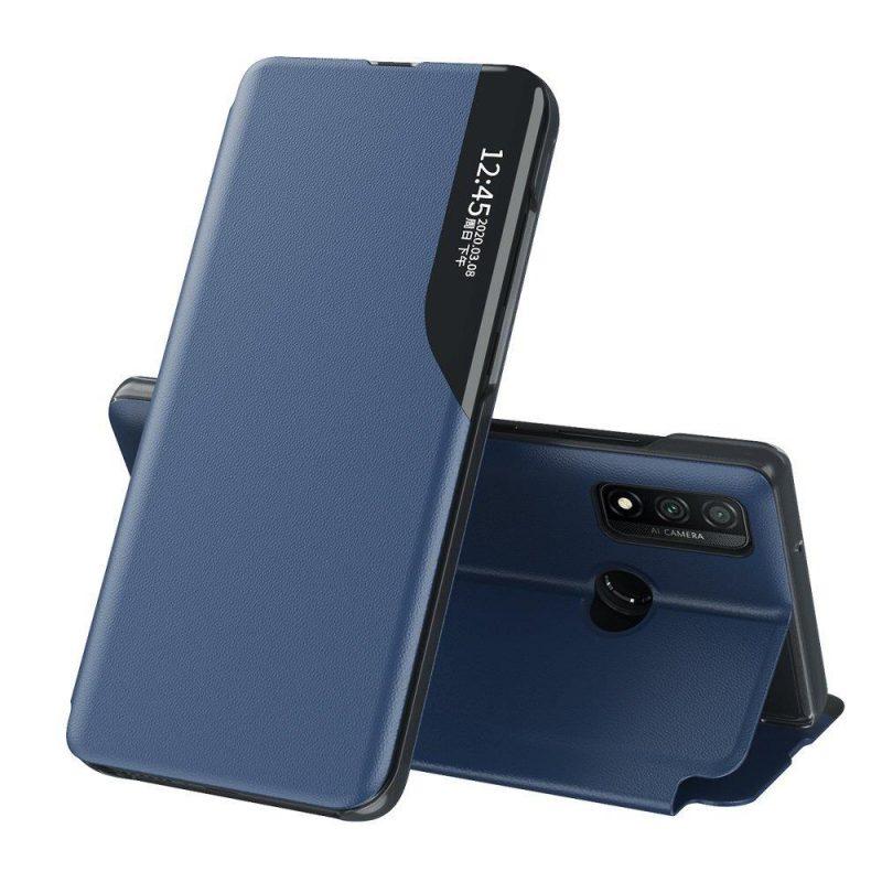 Ochranné flip puzdro na Huawei P40 Lite Modré