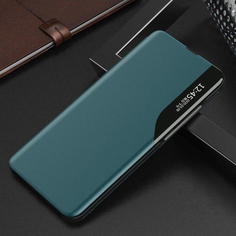 Ochranné flip puzdro na Huawei P40 Lite Zelený