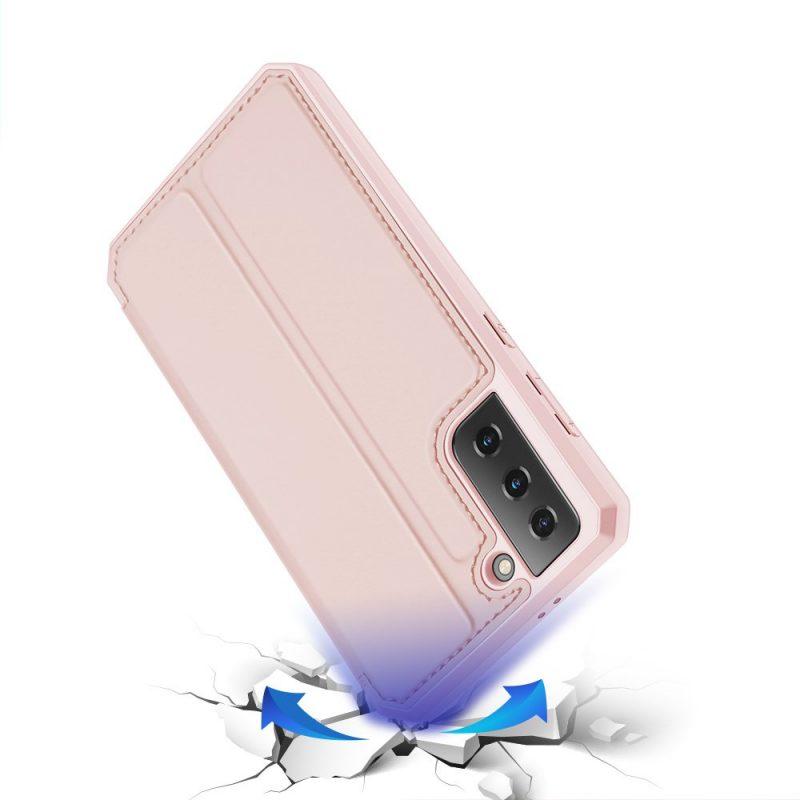 Ochranné Flip puzdro na Samsung Galaxy S21 Plus Ružové