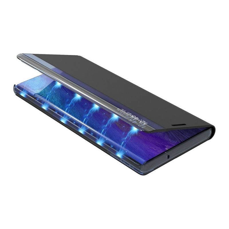 Ochranné Flip puzdro na Samsung Galaxy S21 Ultra Čierne