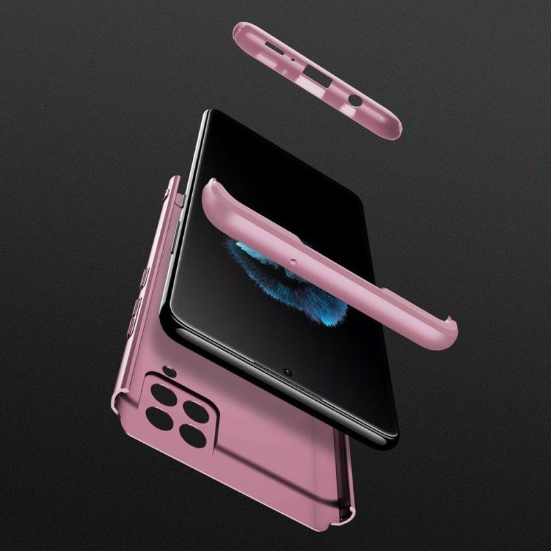 Ochranný Full Body kryt na Samsung Galaxy A42 Ružový
