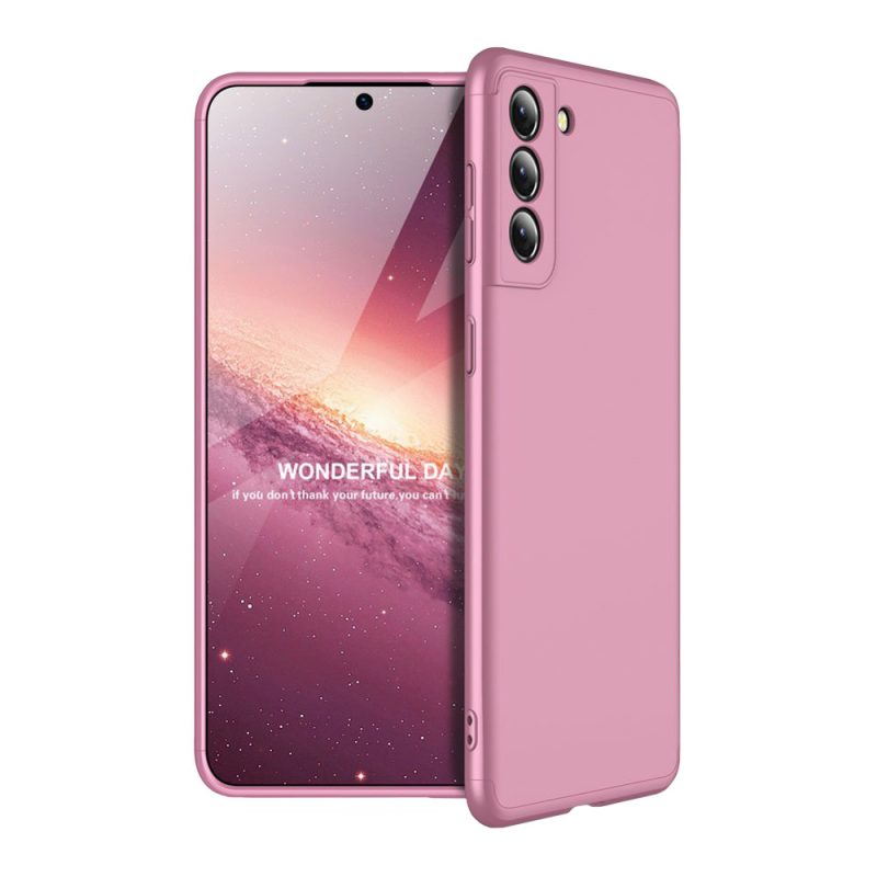 Ochranný kryt na Samsung Galaxy S21 Ružový