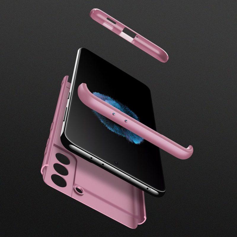 Ochranný kryt na Samsung Galaxy S21 Plus Ružový